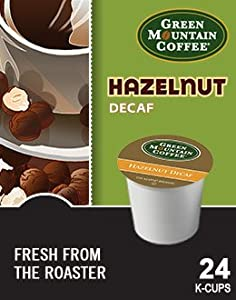 Green Mountain Coffee Hazelnut Decaf K-cup Portion Pack For Keurig K-cup Brewers 24-count by Green Mountain