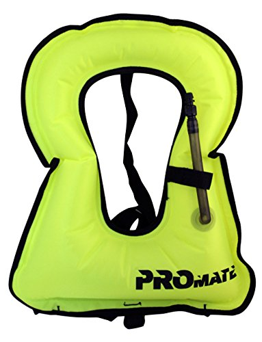 Junior Snorkeling Vest Jacket-Yellow