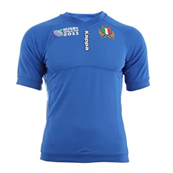 Italy RWC 2011 Home SS Rugby Jersey ROYAL