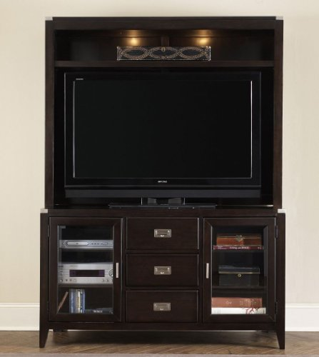Cheap Entertainment TV Stand w/ Hutch by Liberty – Mocha Finish (349-TV00R) (349-TV00R)