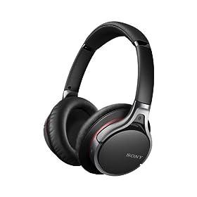 SONY 密閉型ワイヤレスヘッドホン ハイレゾ音源対応 Bluetooth対応 マイク付 MDR-10RBT/B