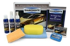 Diamondite Glasswork System Kit for Hand Application