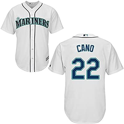 Majestic Athletic Seattle Mariners Robinson Cano 2015 Cool Base Home Jersey