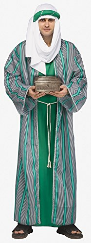 3 Wise Men Costumes - Christmas Nativity Color:Green