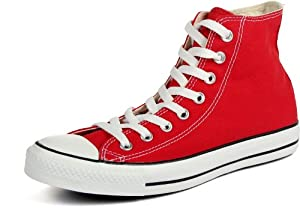 CONVERSE CHUCK TAYLOR ALL STAR HI BASKETBALL SHOES 15 Men US (RED)