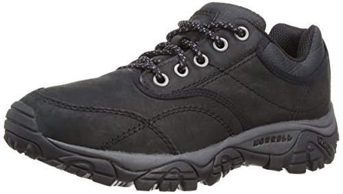 merrell-moab-rover-mens-lace-up-trekking-and-hiking-shoes-black-9-uk