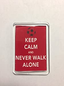 Liverpool F.C - Keep Calm Fridge Magnet (Never Walk Alone)