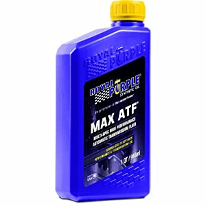 Royal Purple 01320 Max ATF High Performance Multi-Spec Synthetic Automatic Transmission Fluid - 1 qt.