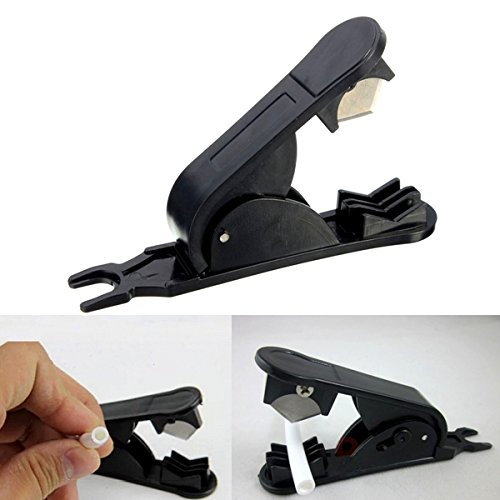 15mm PVC Silicone Plastic Pipe Hose Tube Cutter Tubing Cutter Cutting Tool (1 4 Tube Cutter compare prices)