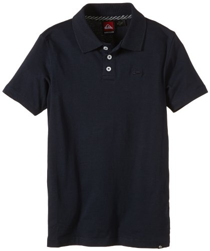 "Quiksilver - Polo da bambino ""Belogo Youth"", Blu (blu navy), 8 anni"