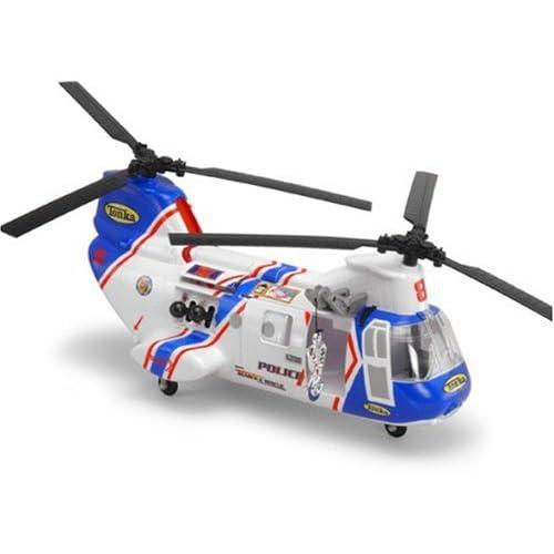 Amazon.com: Tonka Mighty Motorized Transport Police Helicopter