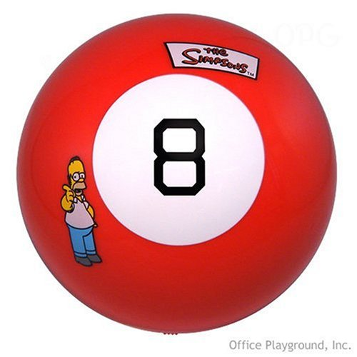 Sababa Toys Talking Simpsons Magic 8 Ball - Buy Sababa Toys Talking Simpsons Magic 8 Ball - Purchase Sababa Toys Talking Simpsons Magic 8 Ball (Sababa Toys, Toys & Games,Categories,Activities & Amusements,Toy Balls)