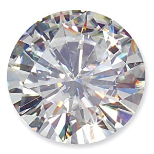 Moissanite 89 Facet Round Brilliant 9.5 mm 2.91 carats FREE EXPRESS SHIPPING UPGRADE - SPECIAL ORDER SIZE. TAKES 1-2 WEEKS TO SHIP. CANNOT BE RETURNED