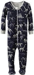 Hatley Infant Footed Coverall - Dino Bones - Pijama para niños - BebeHogar.com