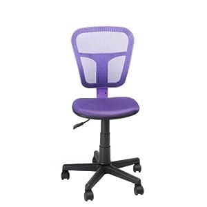 Aingoo® Purple Mesh Fabric Adjustable Chair Kids Task Swivel Chair