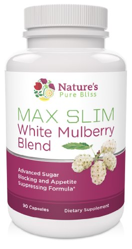 MAX SLIM Pure White Mulberry Extract 500mg (Best