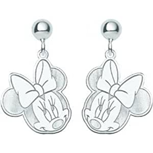 sterling silver disney minnie mouse dangle
