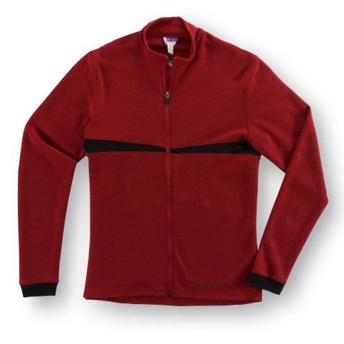 Buy Low Price Ibex Men's Commuter Full-Zip Cycling Shak (7400-5824-L)