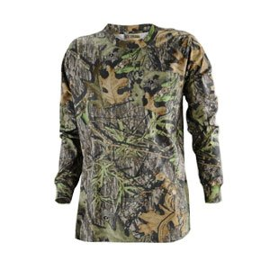 Russell Outdoors Explorer Long Sleeve T-Shirt - Mossy Oak Obsession - Small