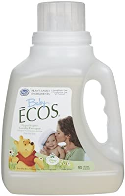 Earth Friendly Baby ECOS Disney Laundry Detergent Free and Clear -- 50 fl oz by Earth Friendly Products