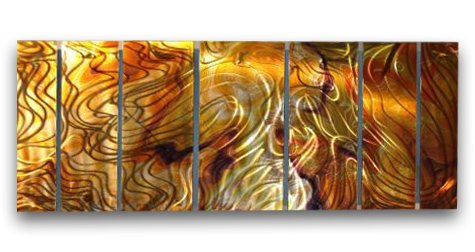 102x36 Contemporary Metal Wall Decor - Unique Artwork - Modern Painting , contemporary home decor, modern wall sculpture