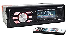 SoundBoss SB-49 Bluetooth Wireless With Phone Caller Id Receiver Car Media