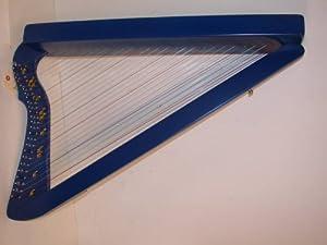 Amazon.com: Harpsicle Harps FLATSICLE 26 String Lap Harp, Blue, Made