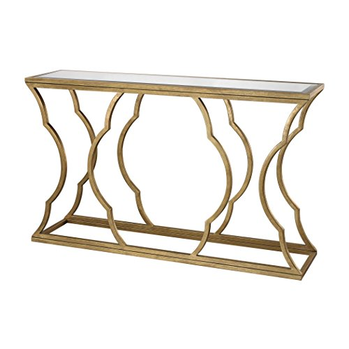 Lazy Susan Metal Cloud Console (60 Inch Console Table compare prices)