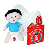 Once Upon A Potty Training Gift Bundle w/ Boy Doll