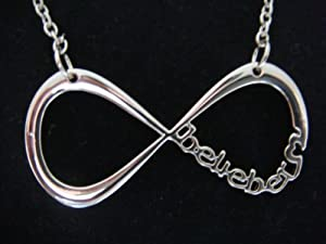 Justin Bieber - Belieber Infinity Necklace in Gift Bag - World Premier - Limited Stock