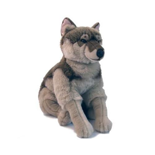 Amazon.com: Gray Wolf Plush