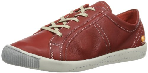 Softinos Womens Irina cashmere Low Red Rot (red 526) Size: 41
