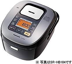 パナソニック IHジャー炊飯器 1合~1升 ブラック SR-HB184-K