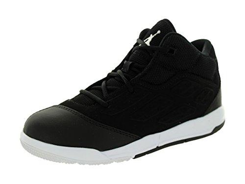 Nike Jordan Kids Jordan New School Bp Black/White/Black Basketball Shoe 12 Kids US (Jordan New Shoes compare prices)