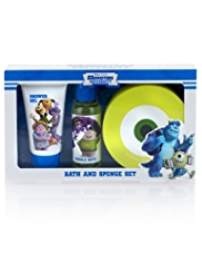 Monsters University Bath & Sponge Gift Set
