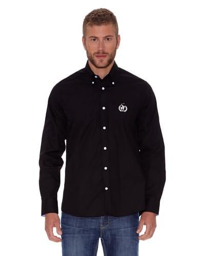 Polo Club Camicia Uomo [Nero]