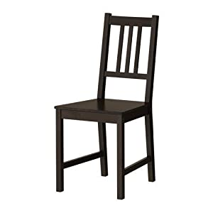 Ikea chaise stefan en bois de cuisine en pin massif for Chaise de salle a manger trackid sp 006