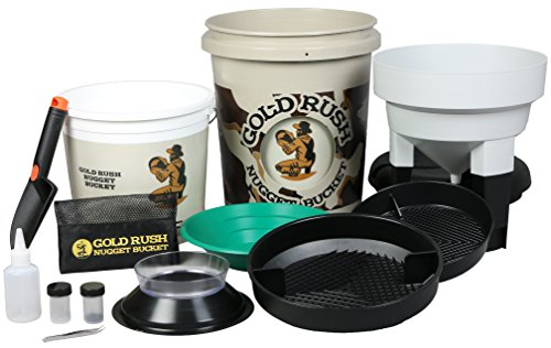 Gold Rush Nugget Bucket - Gold Panning and Prospecting Kit (Camouflage) (Kids Gold Panning Kit compare prices)