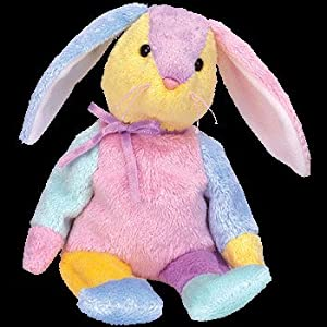 TY Beanie Baby - DIPPY the Rabbit (various color pattern)