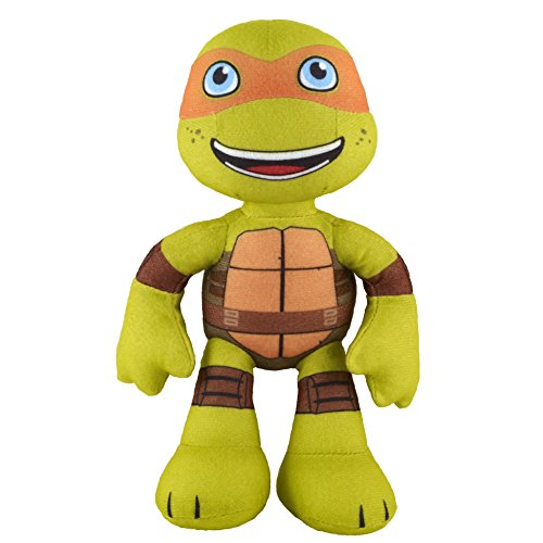 Nickelodeon Teenage Mutant Ninja Turtles, Pre-Cool, Half Shell Heroes, Michelangelo Plush, 8 Inches - 1