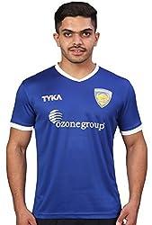 TYKA Chennaiyin FC Tee, Men's (Dark Blue)