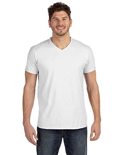 hanes-498-v-herren-shirt-nano-t-v-ausschnitt-gr-s-weiss-weiss