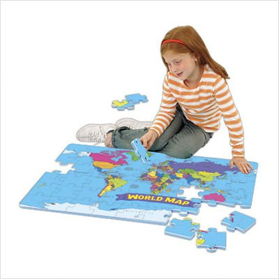 Cheap Educational Insights World Foam Map Puzzle (B000H9F16W)