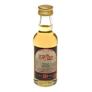 Arran 10 year old Single Malt Scotch Whisky 5cl Miniature from Isle of Arran Distillers