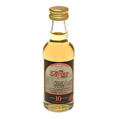 Arran 10 year old Single Malt Scotch Whisky 5cl Miniature from Isle of Arran Distillers