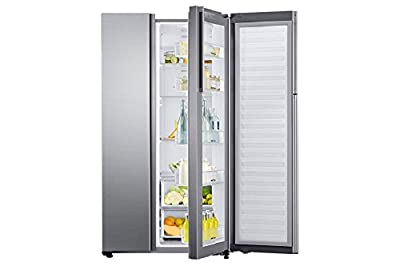 Samsung RH80J81323M Frost-free Side-by-Side Inverter Refrigerator (868 Ltrs, Matiere Real Stainless)