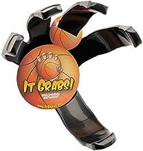 It Grabs, soporte para balones de baloncesto - hand claw - negro