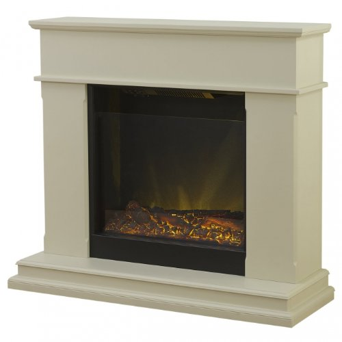 Adam Modena Electric Fireplace Mantel Package in Stone Effect picture B00FFXHA4Q.jpg