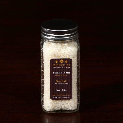 Philippines Sea Salt (Pink) - in Spice Bottle (Philippine Salt compare prices)