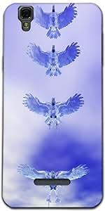 Snoogg Eagle Z Designer Protective Back Case Cover For Micromax Yureka Yu Yur...